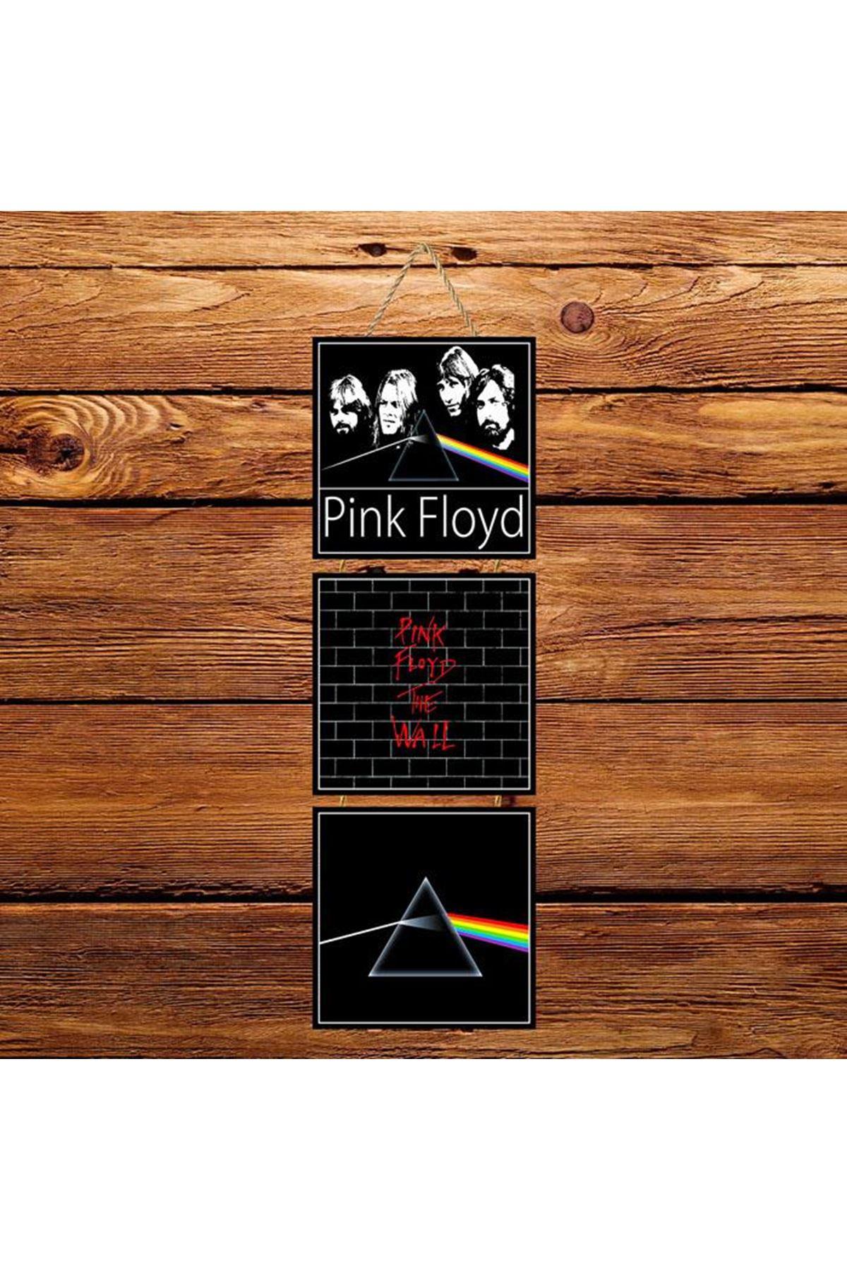 Pink Floyd -  3'lü Kabartmasız Poster