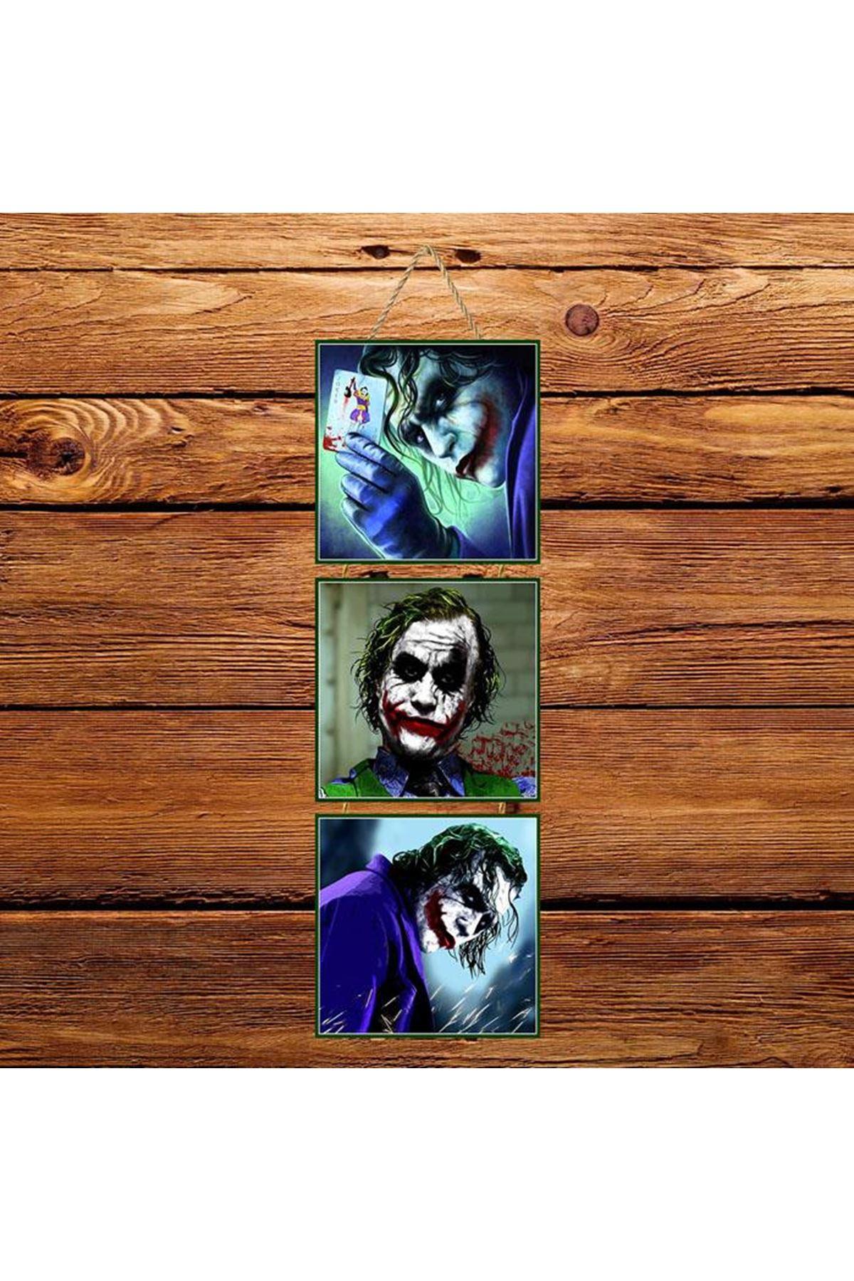 Joker Mavi -  3'lü Kabartmasız Poster