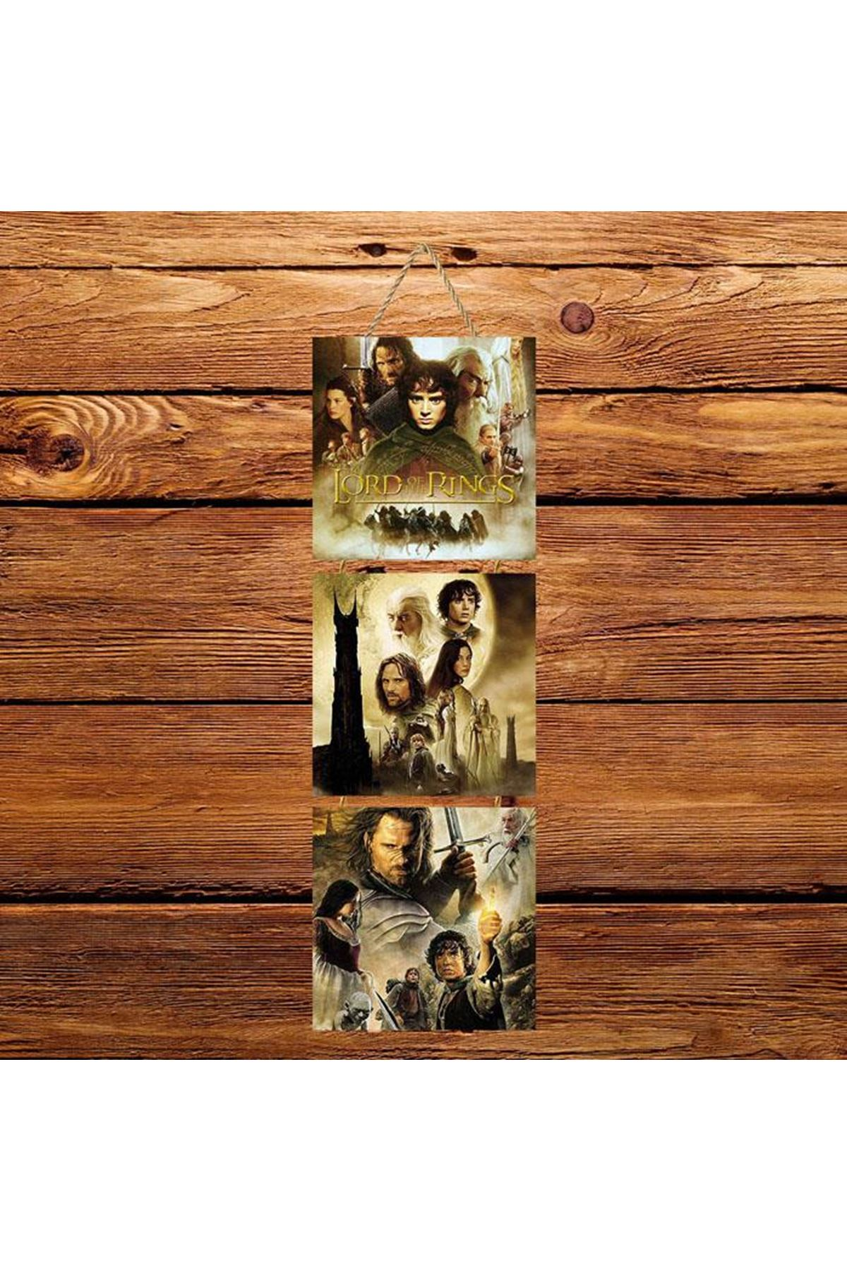 Yüzüklerin Efendisi -  3'lü Kabartmasız Poster