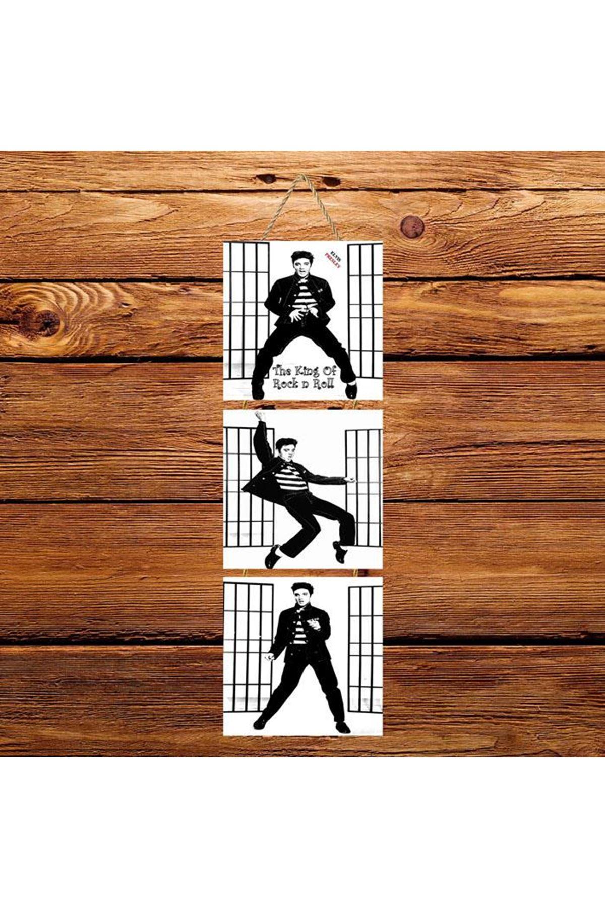 Michael Jackson Dans  -  3'lü Kabartmasız Poster Kopyası