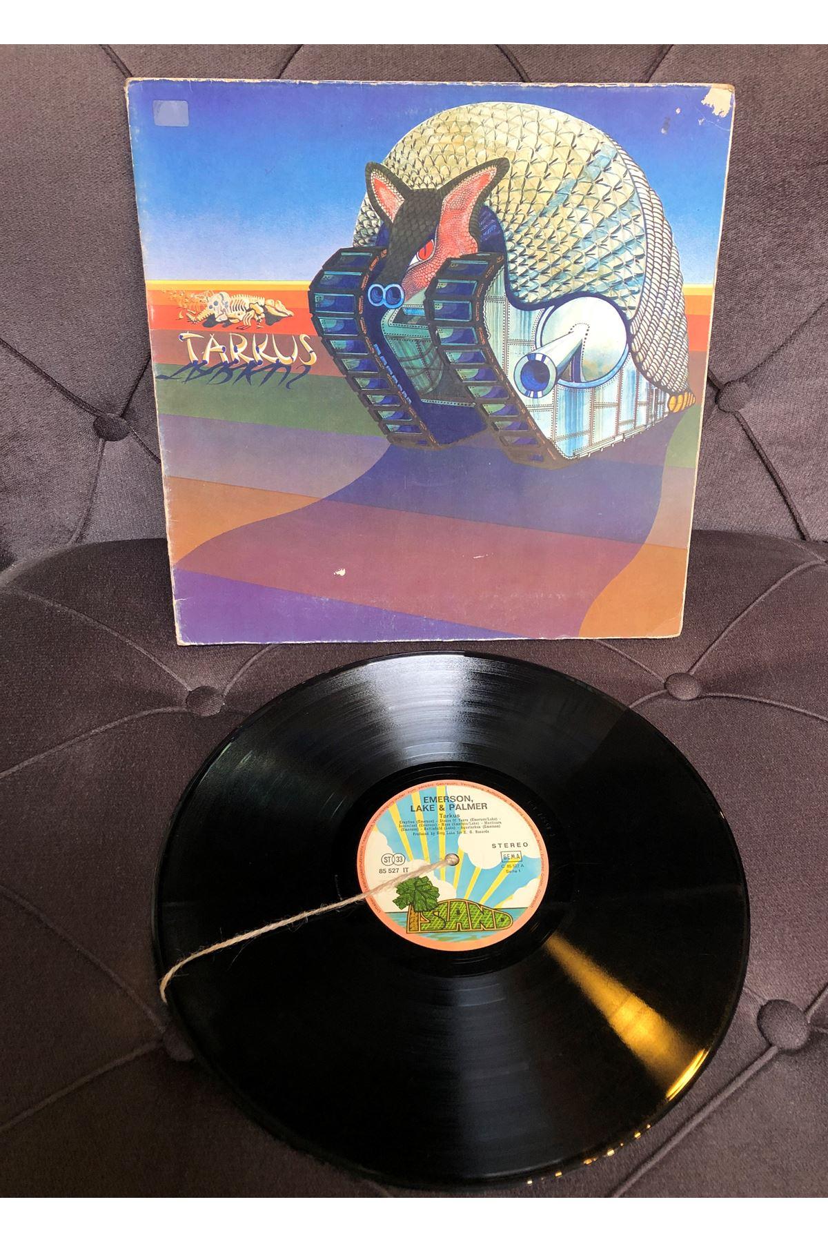 Emerson, Lake & Palmer - Tarkus 33'lük Plak (Orijinal Dönem Baskı)