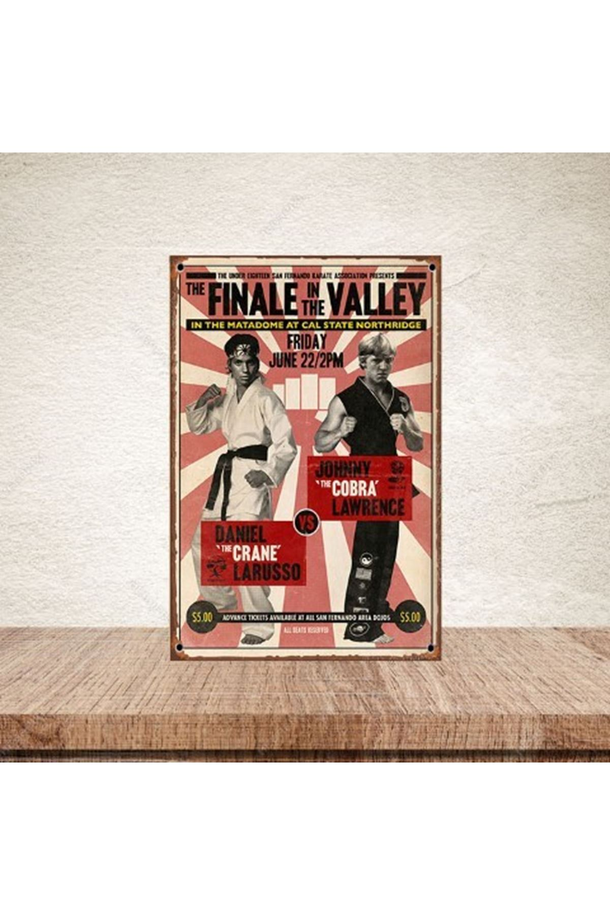 THE FINALE IN THE VALLEY - AHŞAP POSTER