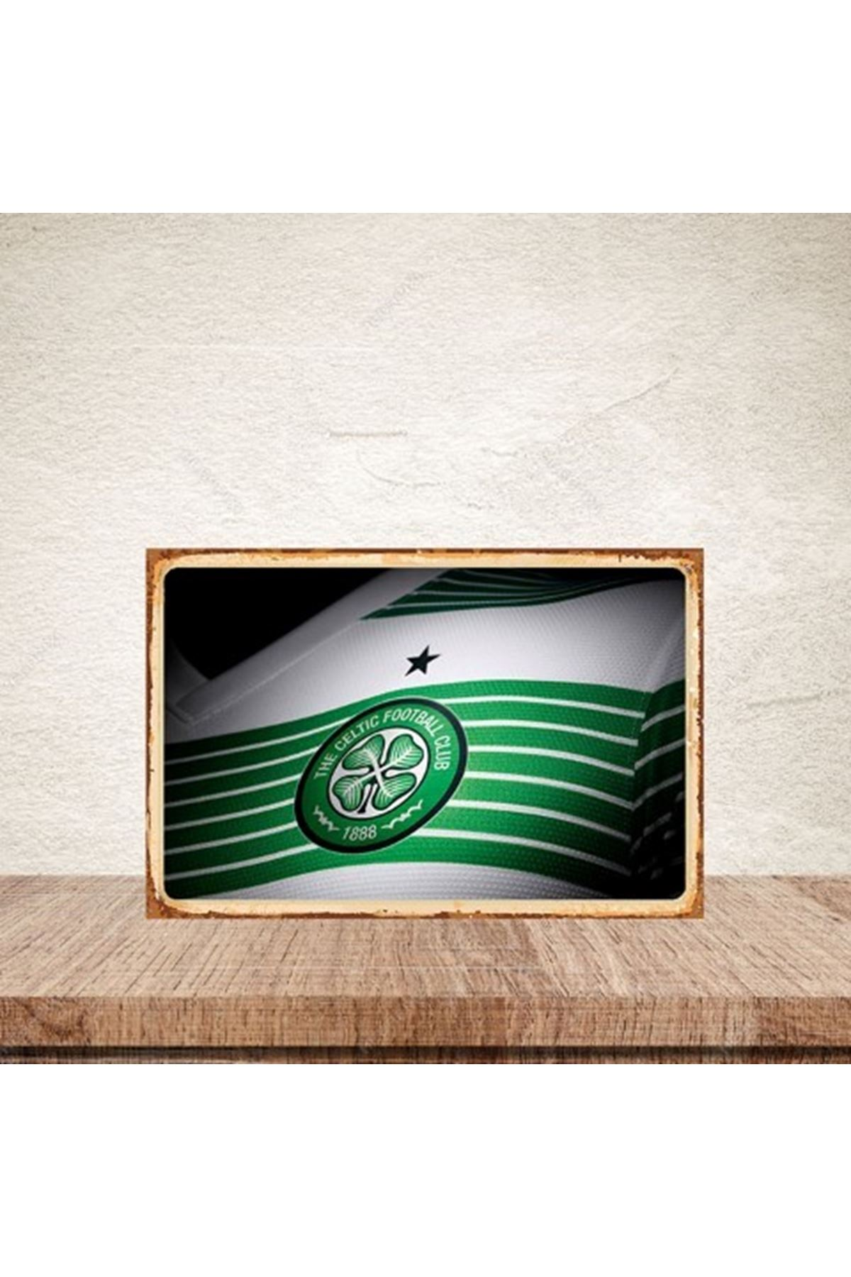 THE CELTIC FOOTBALL - AHŞAP POSTER