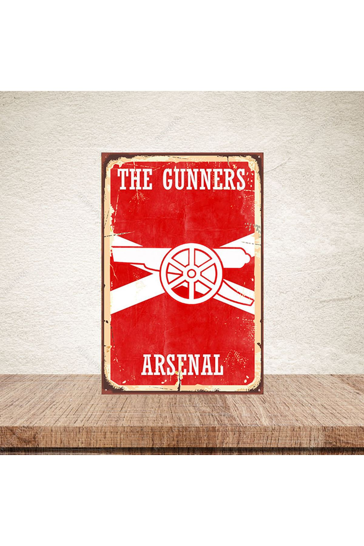 THE GUNNERS ARSENAL - AHŞAP POSTER