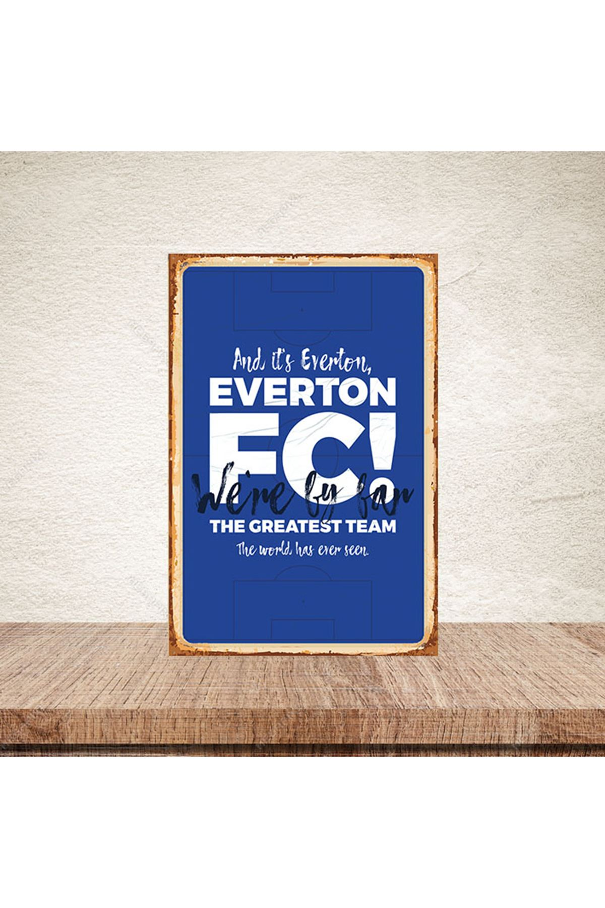 EVERTON FC THE - AHŞAP POSTER