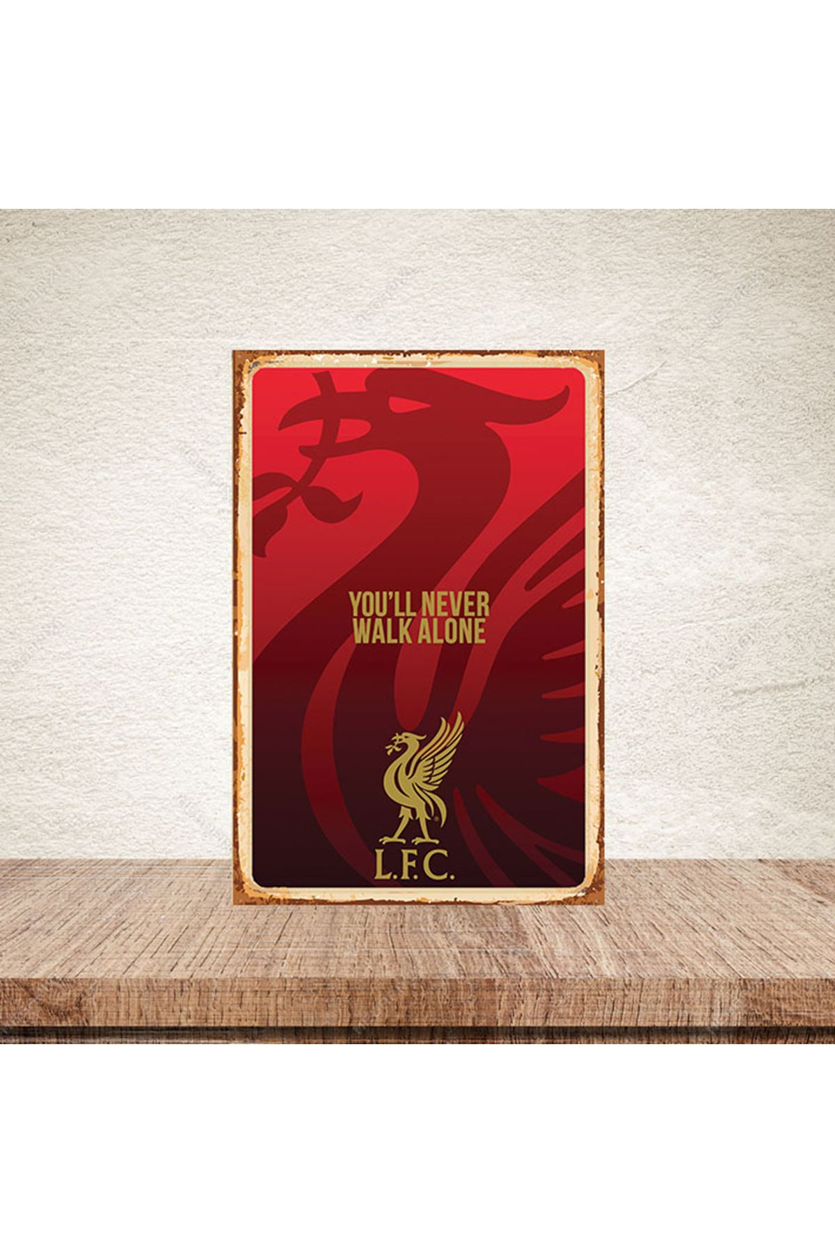 YOU'LL NEVER WALK ALONE - AHŞAP POSTER
