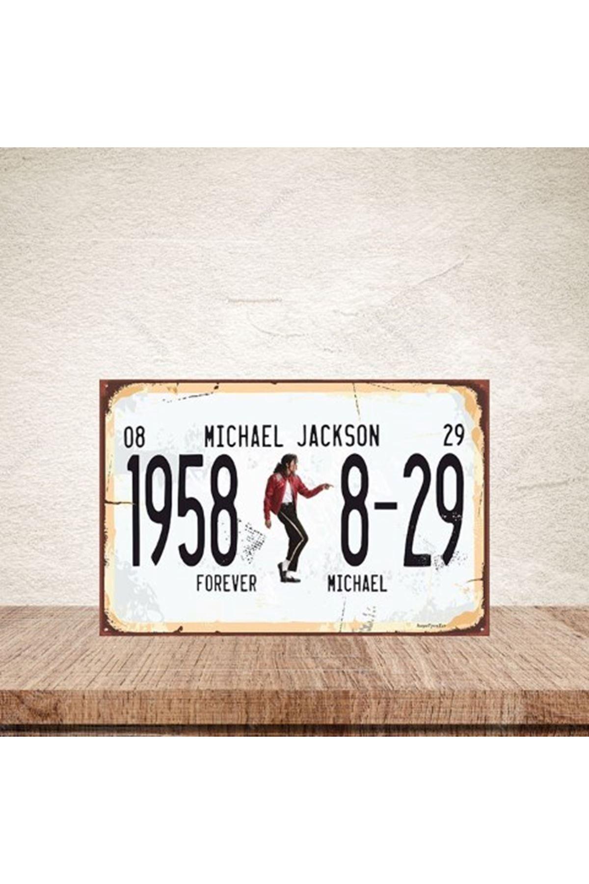 MICHEAL JAKSON 1958 -AHŞAP POSTER