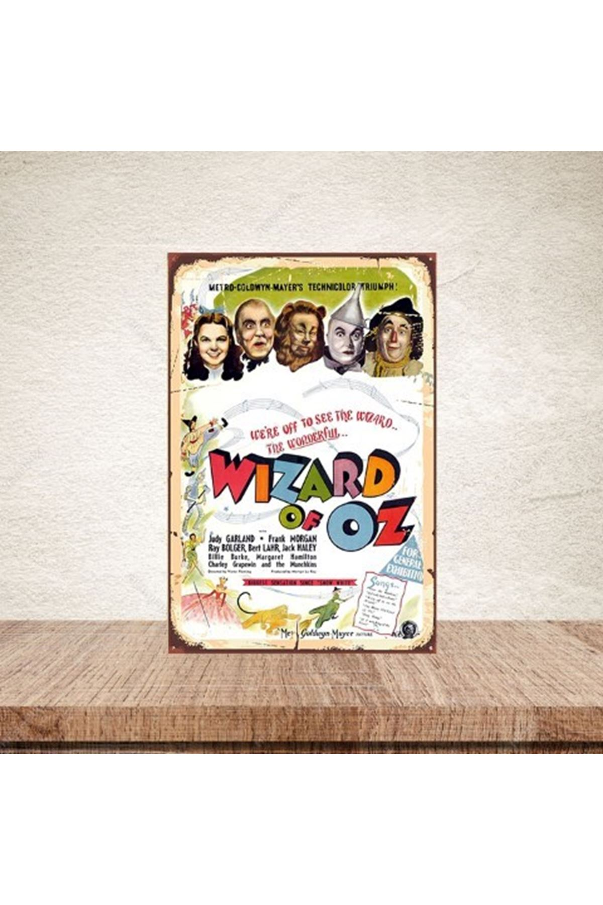 WİZARD OF OZ  - AHŞAP POSTER