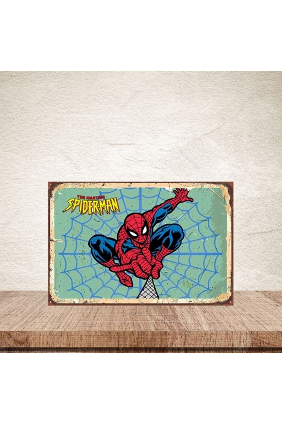 THE AMAZİNG SPİDERMAN  - AHŞAP POSTER