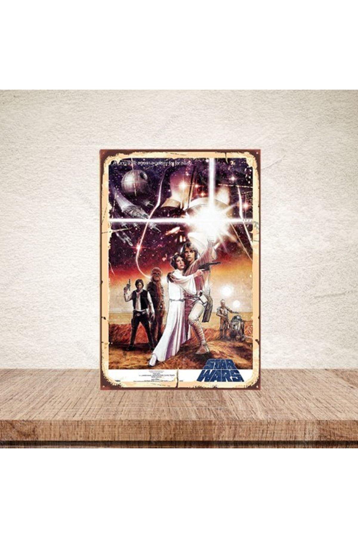 STAR WARS  - AHŞAP POSTER