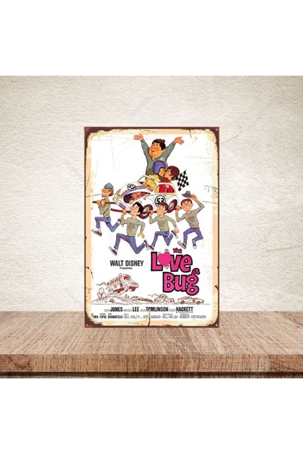 THE LOVE BUG  - AHŞAP POSTER