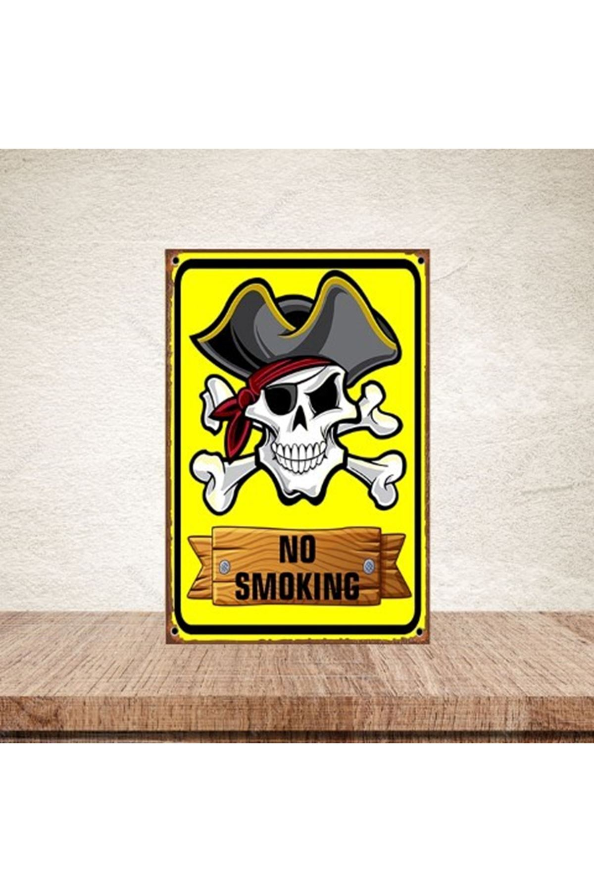 NO SMOKİNG  - AHŞAP POSTER