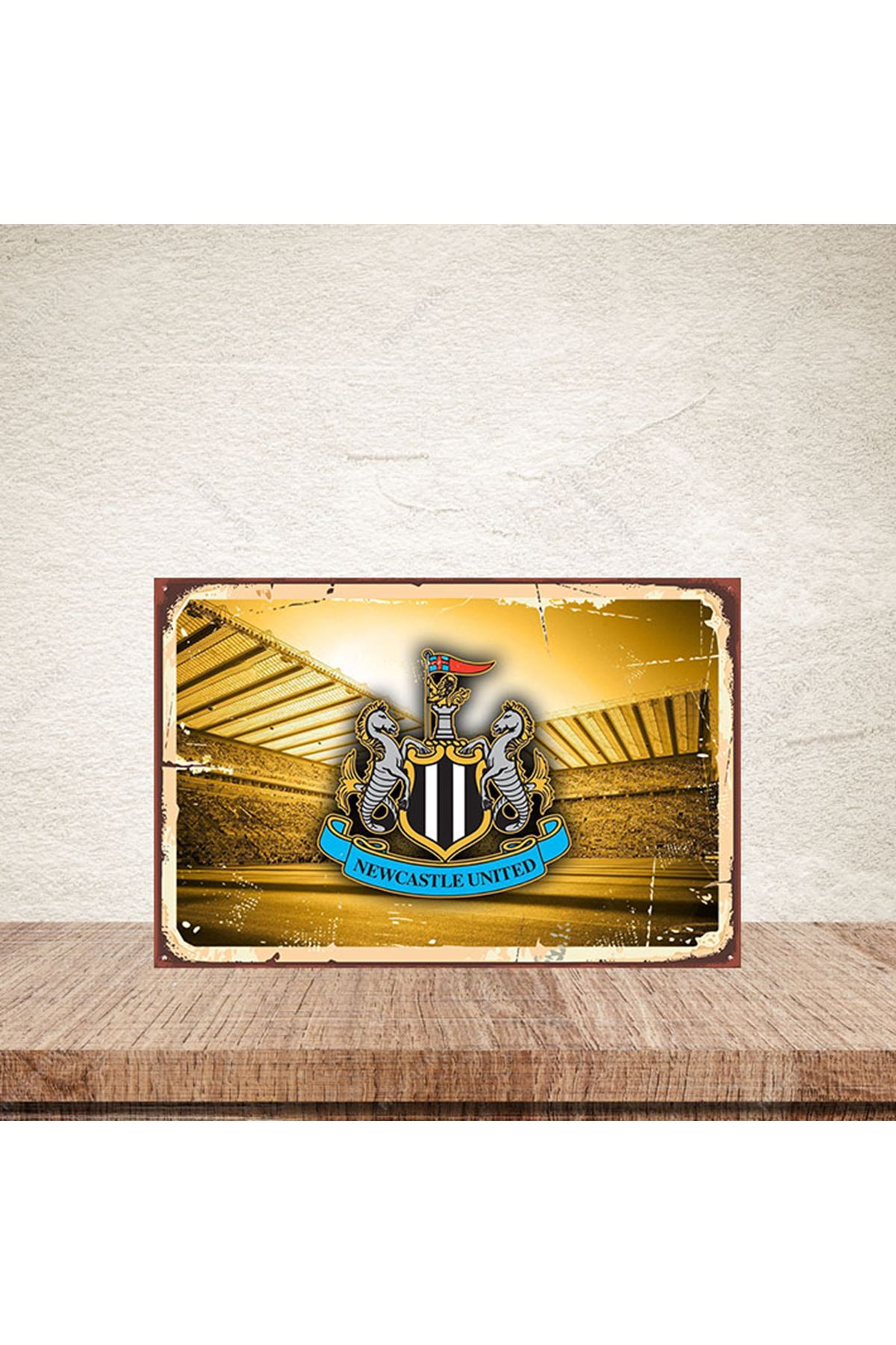 NEWCASTLE UNITED -AHŞAP POSTER