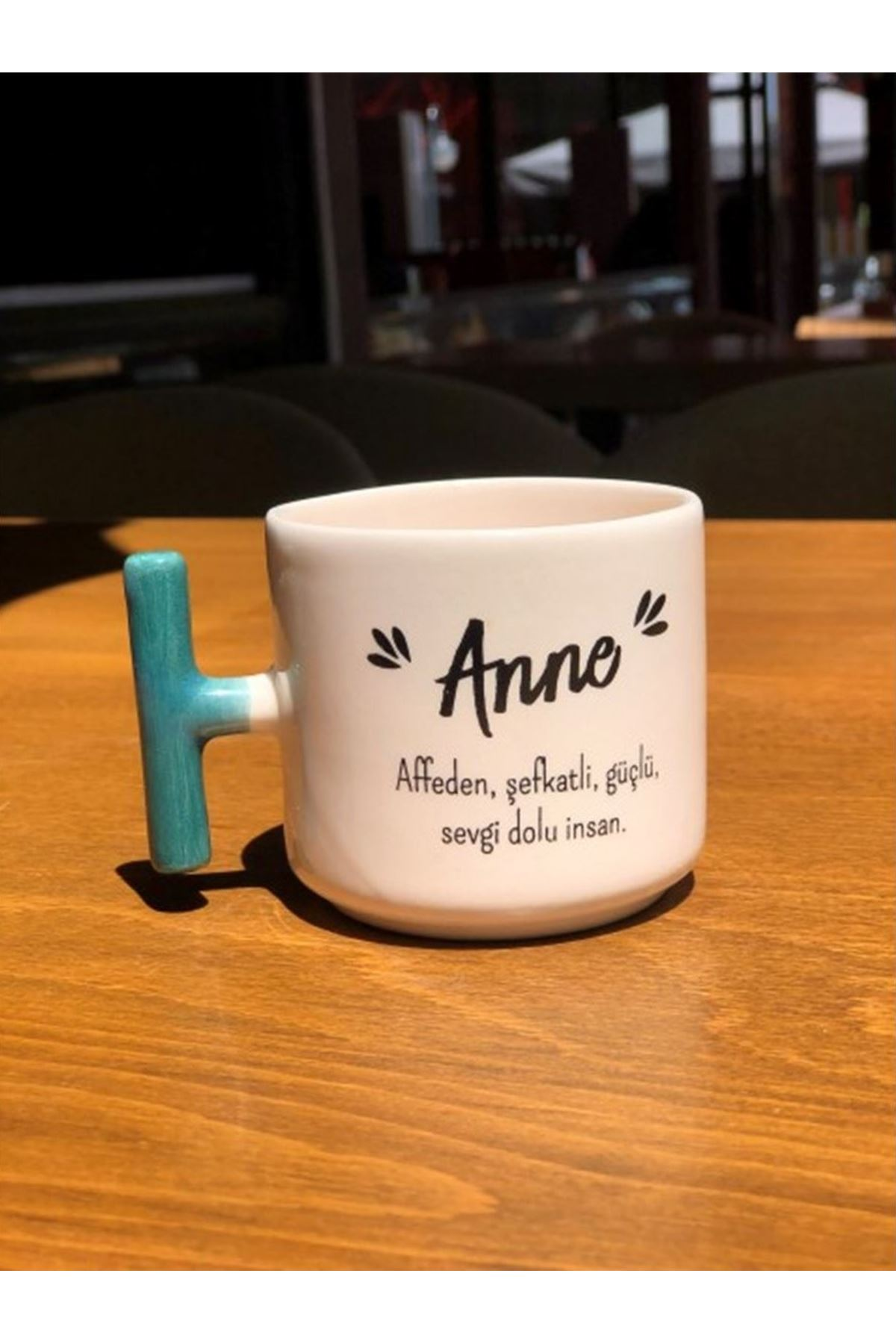 ANNE  -  T SERAMİK KUPA BEYAZ