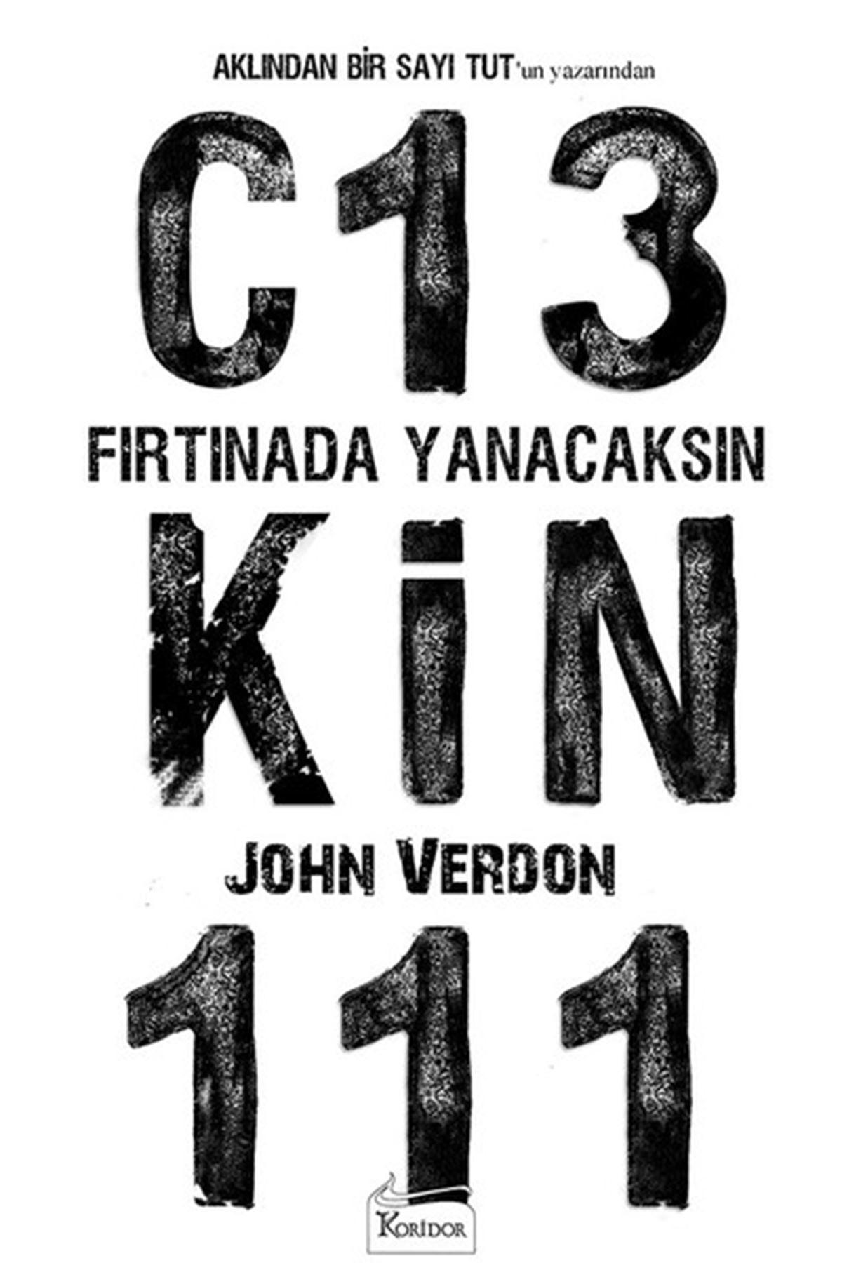 JOHN VERDON - FIRTINADA YANACAKSIN