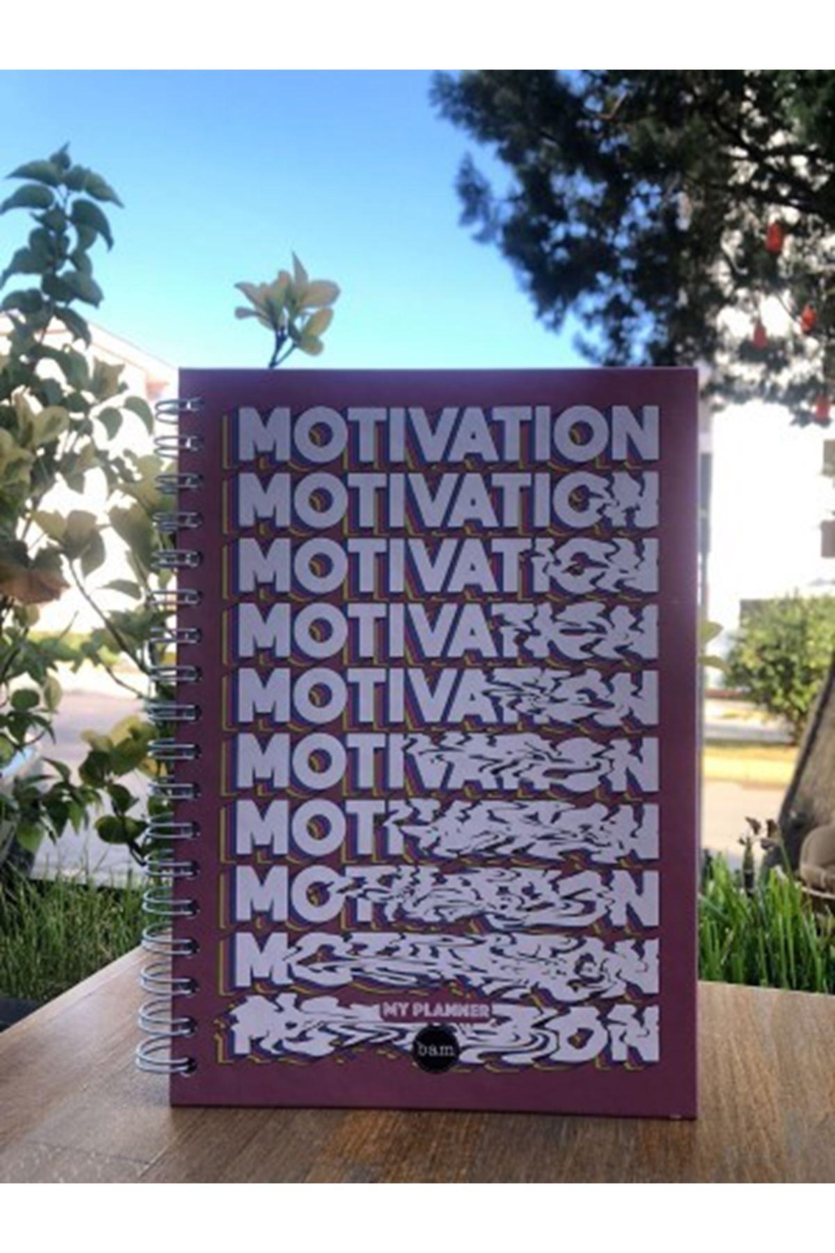 MOTIVATION - SÜRESİZ AJANDA TELLİ