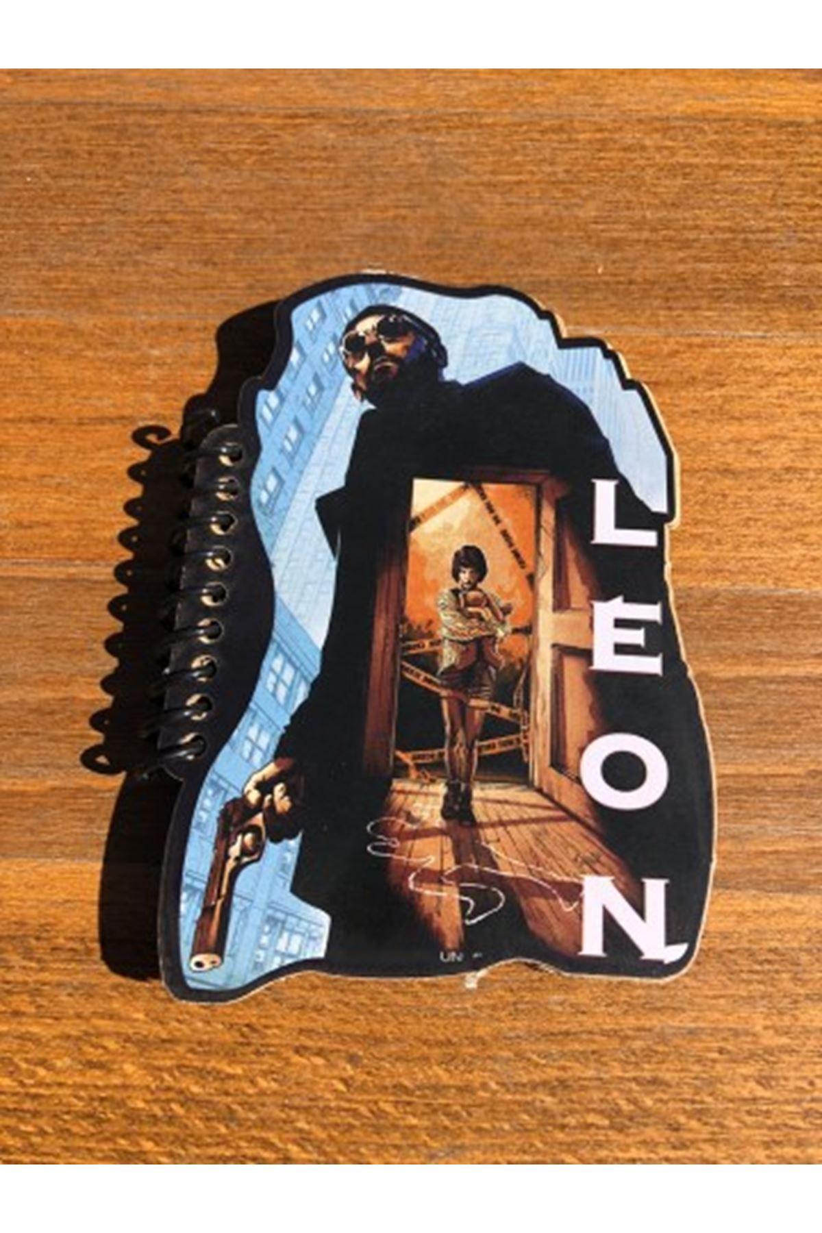 LEON - ŞEKİLLİ MİNİ DEFTER